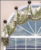 Oxford Arched Valance 9297